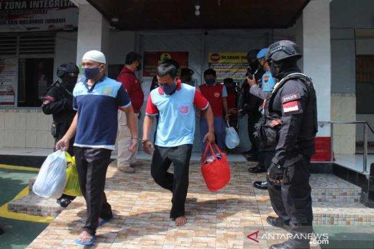 156 napi Rutan Boyolali dipindahkan ke bangunan baru dengan pengawalan ketat