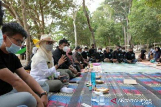 Melati Erzaldi: Wisata Pantai Tanjung Labun buah karya pemuda Desa Serdang