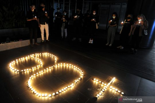 Earth hour di Bali