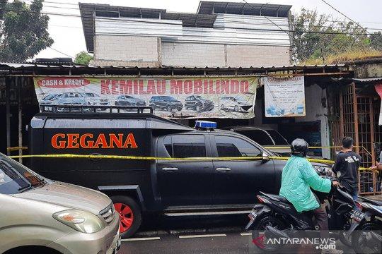 Polisi amankan lokasi penangkapan dua terduga teroris di Condet