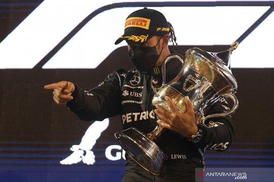 Lewis Hamilton juara GP Bahrain