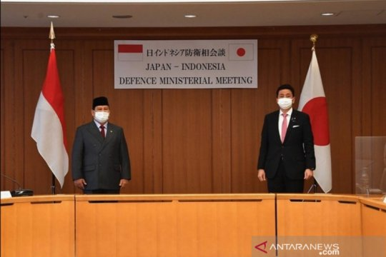 Menhan Prabowo dan Menhan Jepang bertemu perkuat hubungan bilateral
