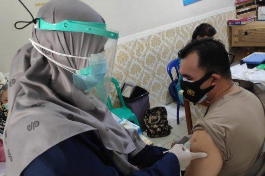 340 personel polisi Bangka terima vaksinasi Astrazeneca