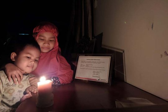 Pertamina Cilacap padamkan 60.000 lampu selama Earth Hour 2021