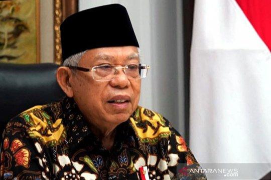 Wapres Ma'ruf Amin minta Menkeu konsolidasi dana pembangunan Papua