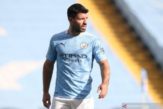 Aguero tinggalkan Man City, Chelsea jadi pilihan berlabuh?