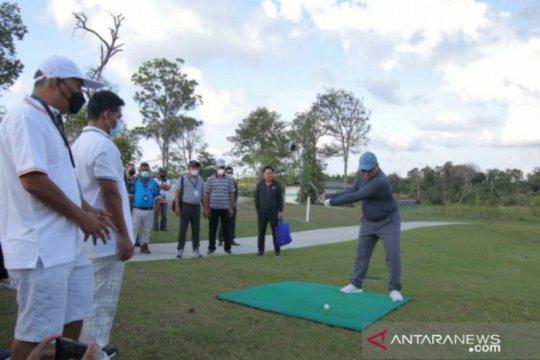 Gubernur Erzaldi buka turnamen golf skala nasional di Belitung