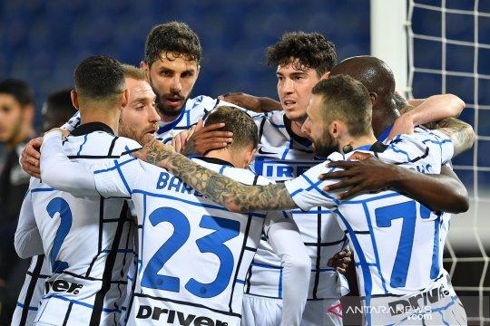 Klasemen Liga Italia: Inter kian mencengkeram puncak