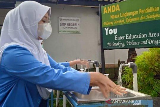 Uji coba pembelajaran tatap muka di tengah pandemi