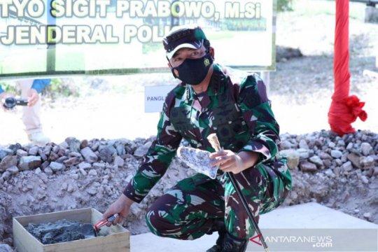 Panglima TNI resmikan pembangunan Markas Komado Gugus Tempur Laut di Natuna