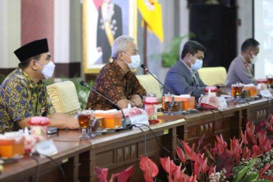 Gubernur Jateng-Forkopimda rapat  persiapan Ramadhan