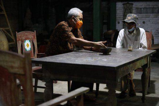 Ganjar temui Tanto Mendut bahas pengembangan kawasan Borobudur