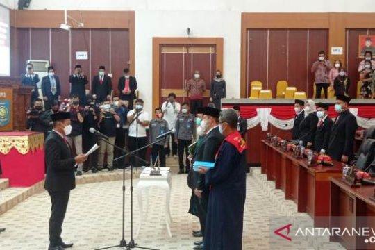 DPRD Babel Paripurna Dua Anggota PAW Sisa Masa Jabatan 2019-2024