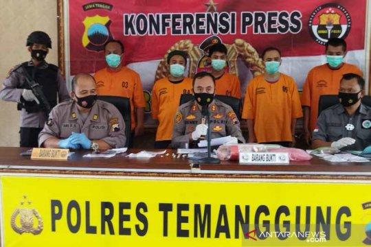 Operasi Antik Candi Polres Temanggung ungkap lima kasus sabu-sabu