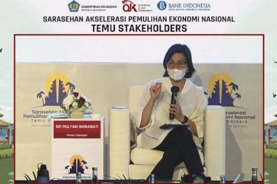 Indonesia among top ten countries in vaccination coverage: Indrawati