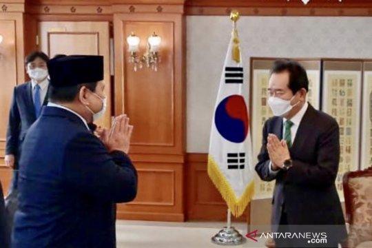 Menhan Prabowo harap Indonesia-Korsel perkuat kerja sama industri pertahanan