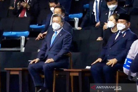 Menhan Prabowo hadiri peluncuran pesawat tempur KFX/IFX di Korsel