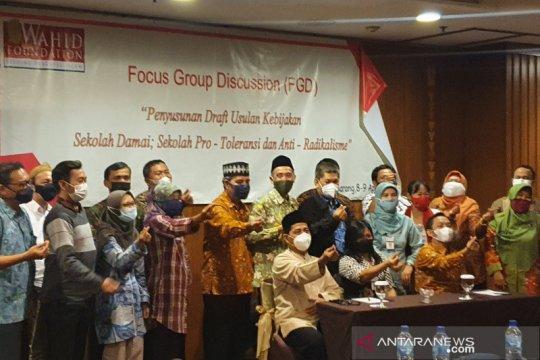 Lintas sektoral susun rancangan sekolah  protoleransi/antiradikalisme