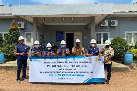 Dorong Kegiatan Ekonomi, PLN Sambung Listrik Smelter Timah di Belitung