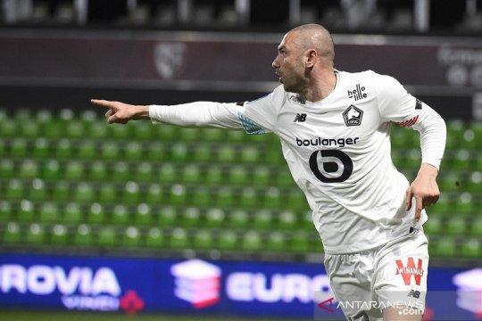 Lille tundukkan Metz 2-0, kian kokoh di puncak klasemen