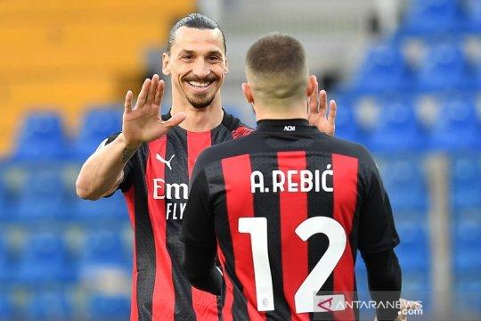 Klasemen Liga Italia, Milan perkecil jarak dari puncak