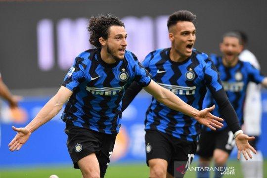 Inter Milan unggul 11 poin di pucuk klasemen sementara Liga Italia
