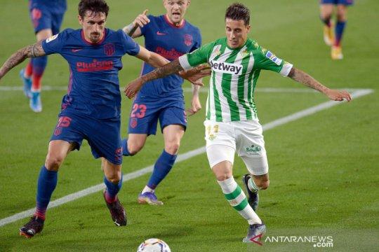 Imbang 1-1 lawan Real Betis, Atletico Madrid puncaki klasemen sementara