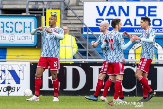 Ajax selangkah lebih dekat menuju juara Liga Belanda