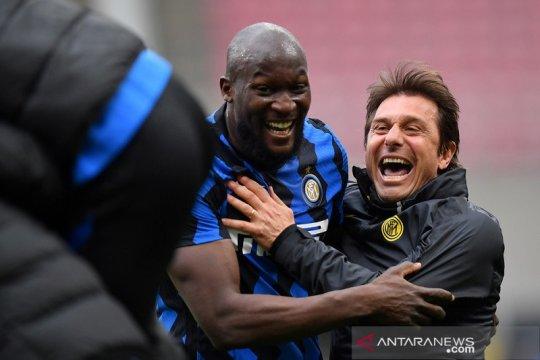 Hasil dan klasemen Liga Italia: Inter restorasi keunggulan 11 poin di pucuk