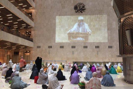 Masjid Istiqlal selenggarakan Shalat Tarawih pertama 1 Ramadhan 1442 Hijriyah