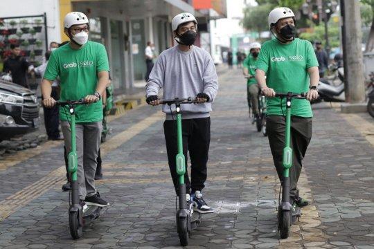 Dukung Solo Smart City, Grab luncurkan kendaraan listrik