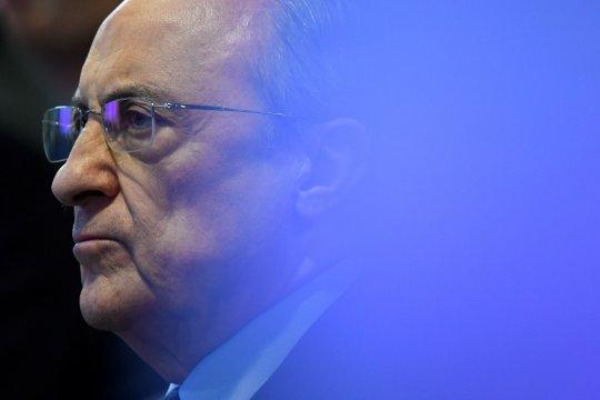 Florentino Perez terpilih kembali menjadi presiden Real Madrid