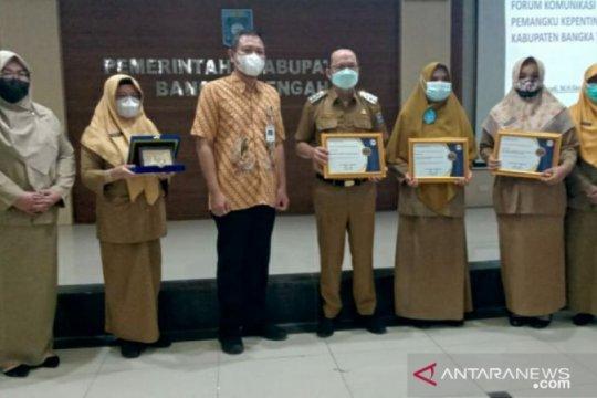 Bupati: 79 persen masyarakat Bangka Tengah sudah terlayani BPJS kesehatan