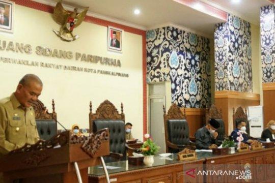 Wawako Pangkalpinang hadiri Paripurna laporan hasil kerja Pansus DPRD