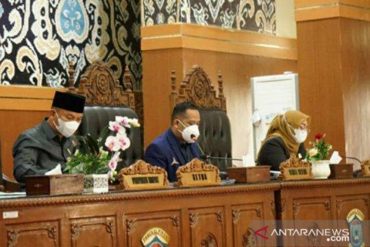 DPRD Pangkalpinang gelar paripurna laporan hasil kerja Pansus terkait laporan LKPJ Walikota