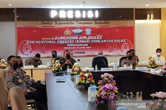 Aplikasi perpanjangan SIM secara daring mulai diterapkan di Jateng