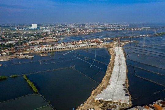 Proyek pembangunan Jalan Tol Semarang - Demak