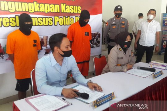 Polda DIY tangkap pelaku perdagangan satwa dilindungi