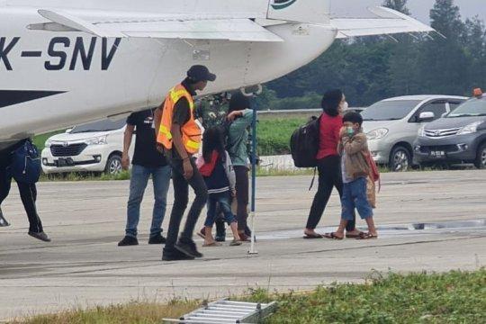 Sebanyak 27 orang warga Beoga kembali dievakuasi ke Timika