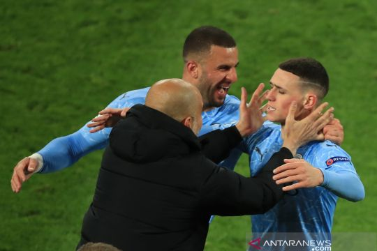 Guardiola sebut Manchester City terus membangun sejarah