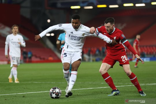 Imbang 0-0 lawan LIverpool, Real Madrid ke semifinal Liga Champions