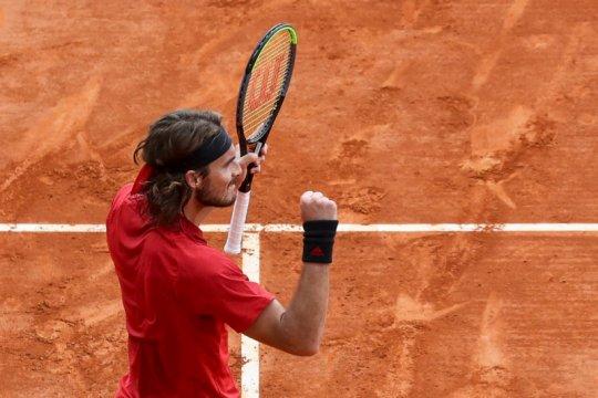 Tsisipas lolos ke perempat final Monte Carlo Masters