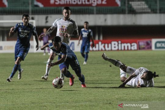 Pelatih Persib Bandung akui laga melawan PSS Sleman melelahkan