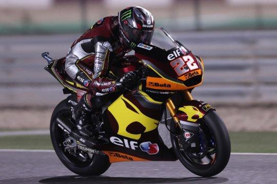 Duet Pertamina Mandalika jeblok di kualifikasi di GP Moto2