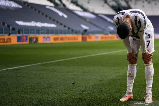 Cedera paha, Juventus dipastikan tanpa Ronaldo lawan Atalanta