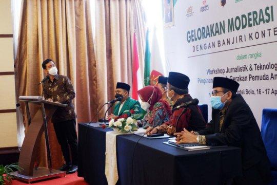 Upaya GP Ansor Jateng gencarkan konten rahmah diapresiasi Gibran