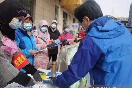 Umat Islam Beijing gelar kegiatan bakti sosial