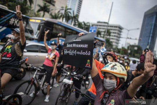 Otoritas Myanmar menangkap wartawan asal Jepang