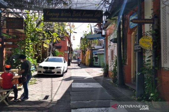 Kampung Batik Kauman Solo mulai menggeliat
