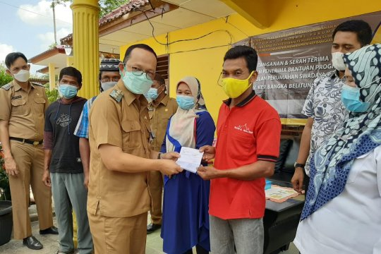 Pemkab Bangka Tengah gulirkan program bantuan stimulan perumahan swadaya